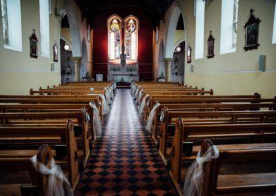 sliabh beagh inside chapel